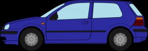 Profilzeichnung VW Golf 4