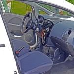 Vorne im Elektroauto
